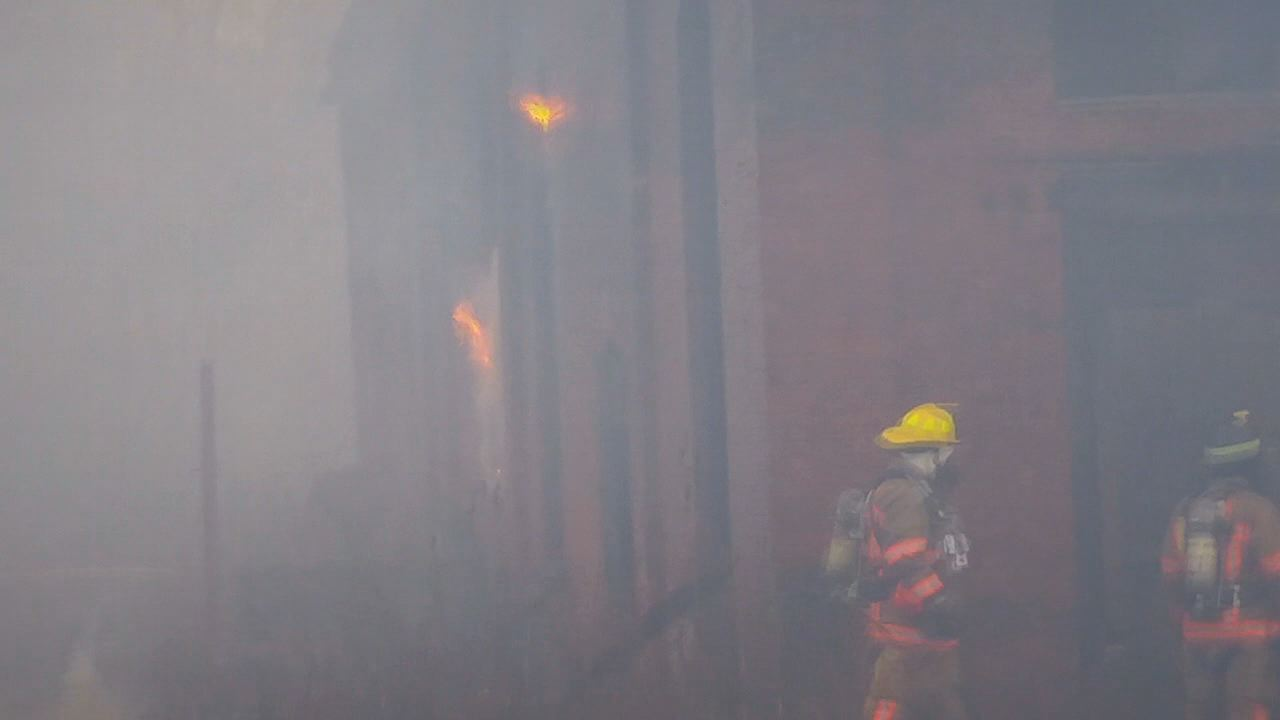 Roundhouse fire