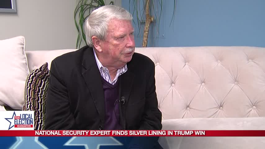 National security expert finds silver lining in Trump win