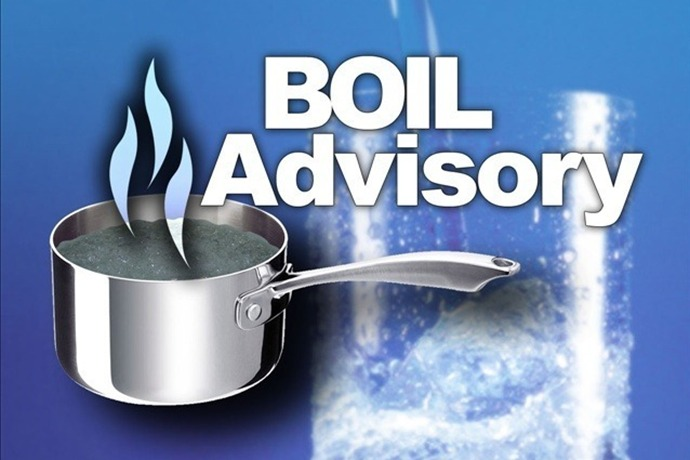 Boil water advisory in Town of DeWitt