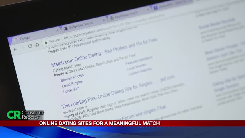 Choosing the right online dating sites: Consumer Reports