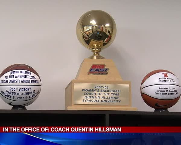 In The Office of SU woman-s Coach Quentin Hillsman_61491822