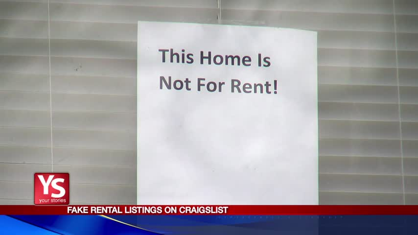 Not for Rent: Fake Craigslist posts bring homeowners