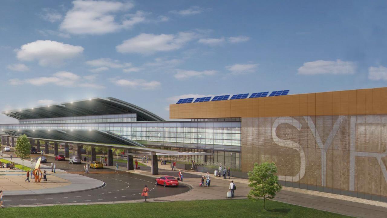 Hancock Airport Rendering