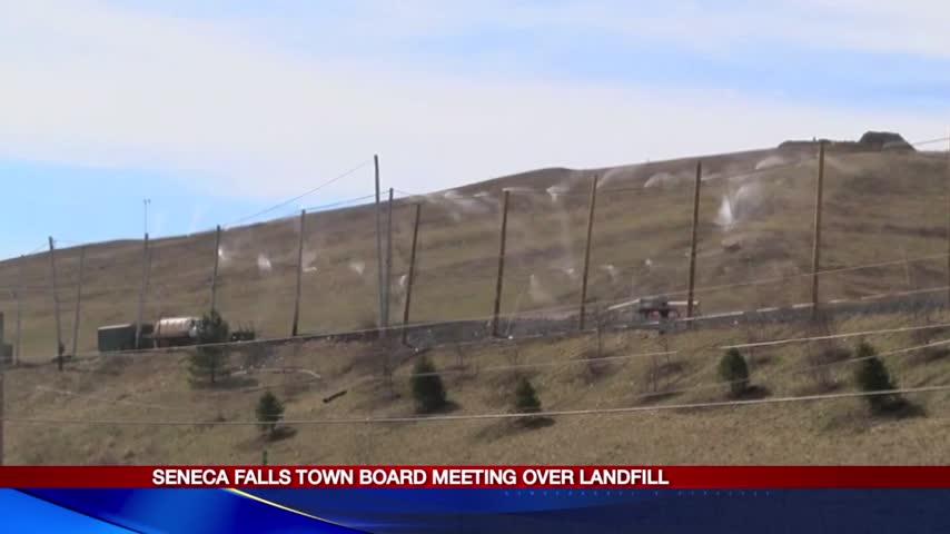 Seneca Falls town board meeting over landfill_22105013