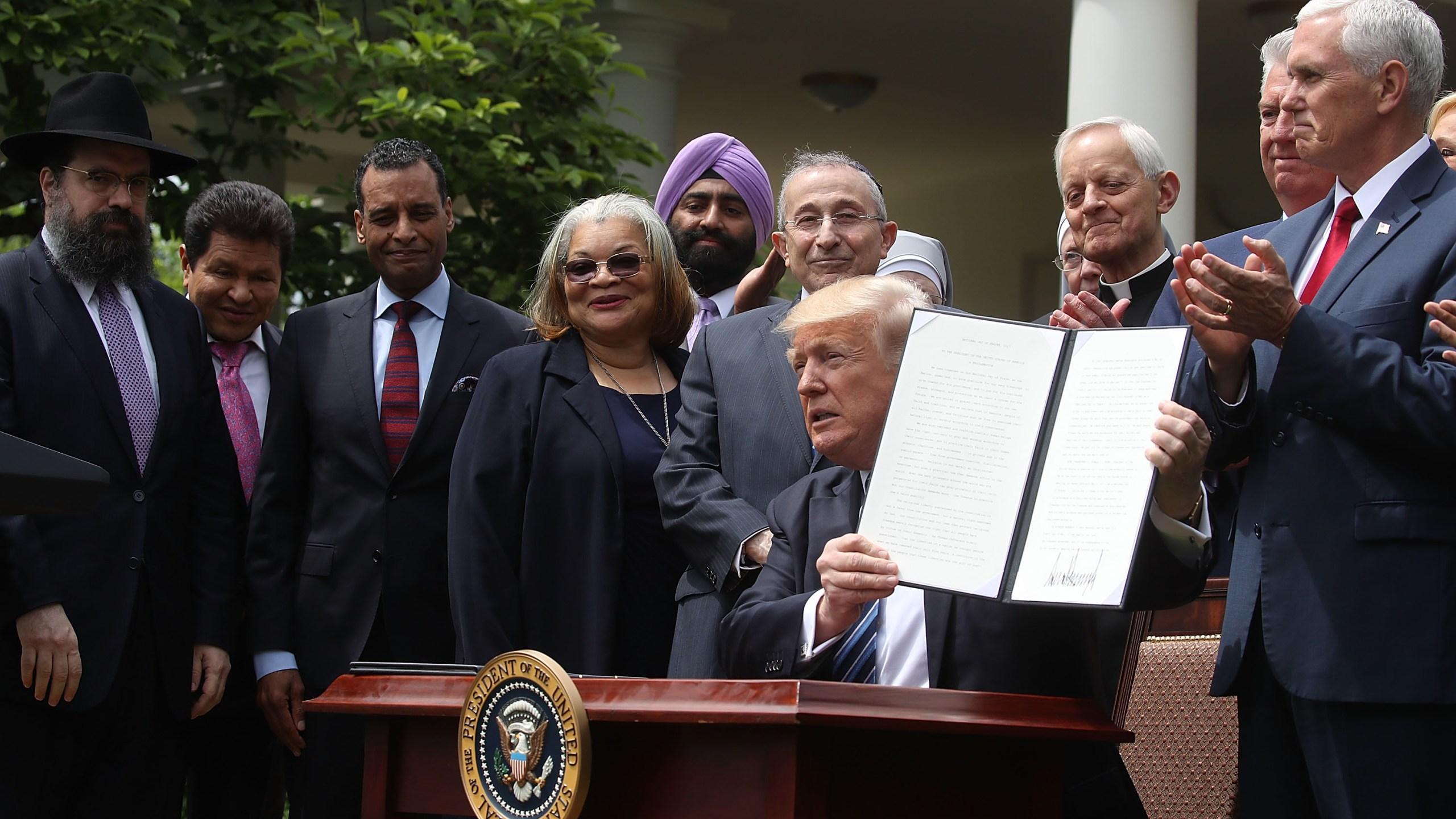 Trump religious order75435661-159532