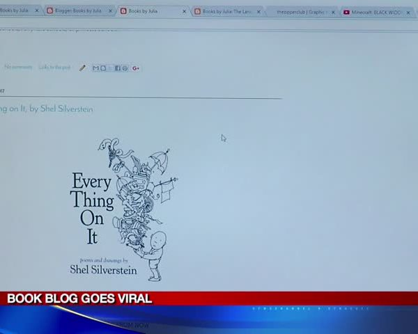 11-year-old's book review blog goes viral