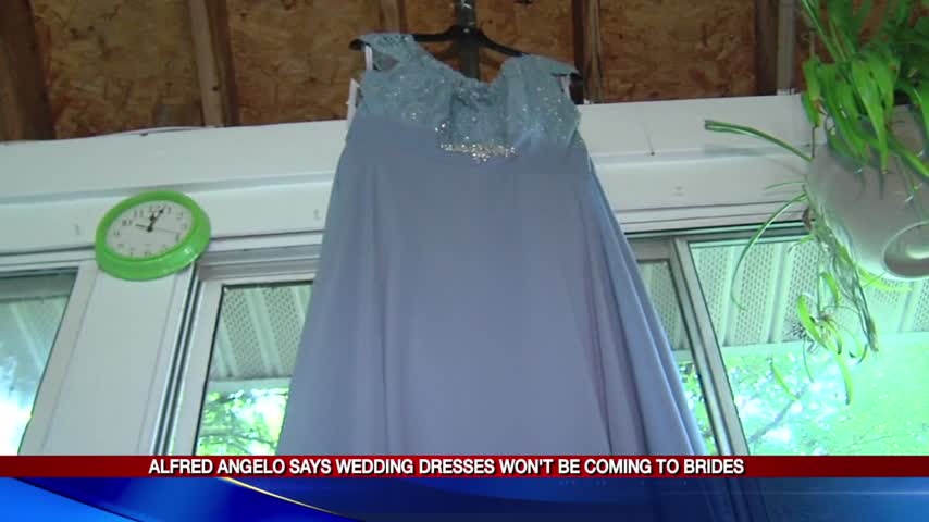 Alfred Angelo says wedding dresses won-t be coming to brides_93428656
