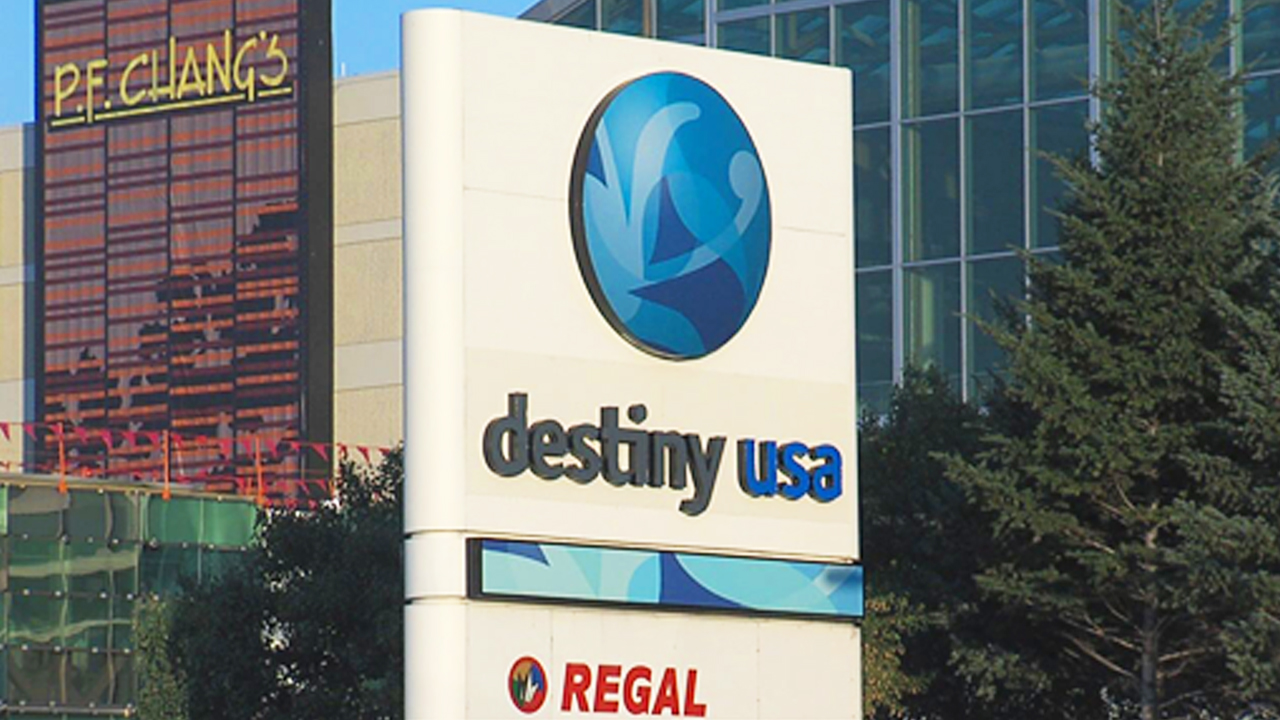 destiny usa regal sign