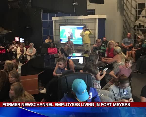 Former NewsChannel 9 employees assess damage after Irma_94821126
