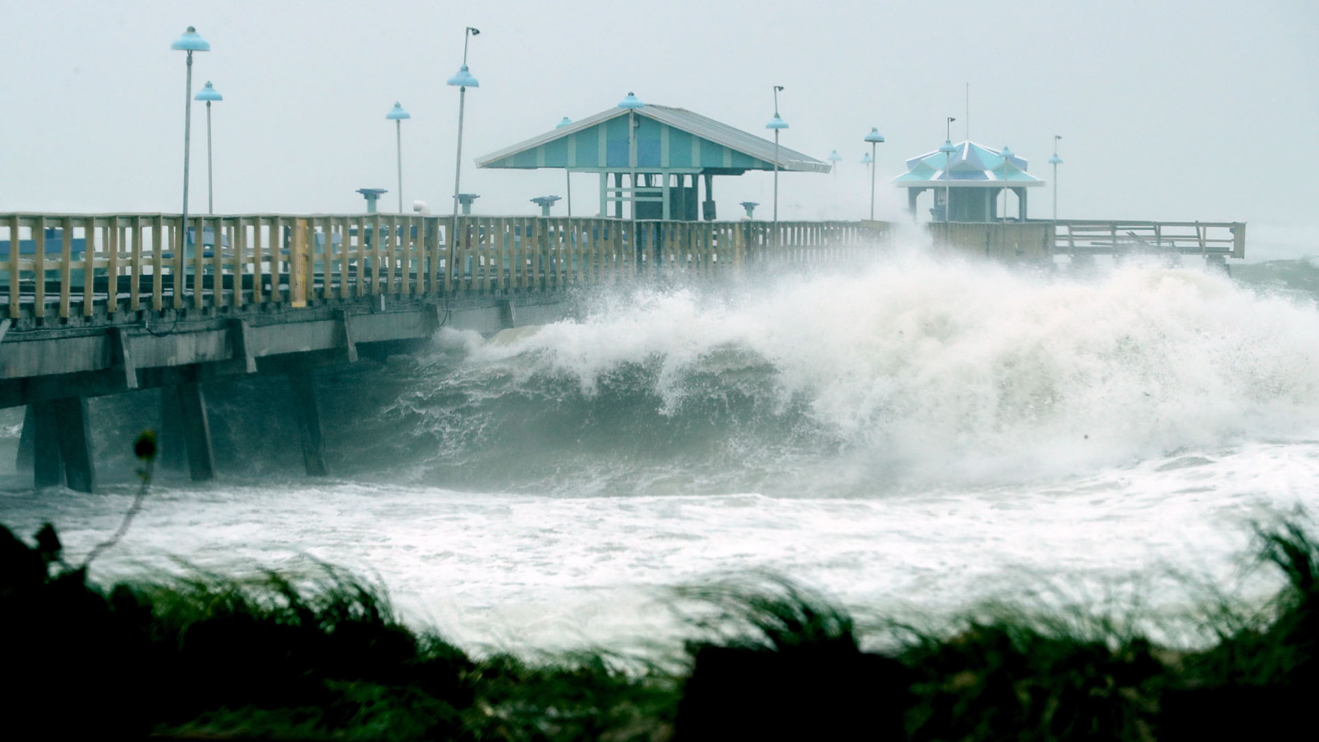 Fort Lauderdale, Florida, Hurricane Irma, Anglins Fishing Pier21408924-159532