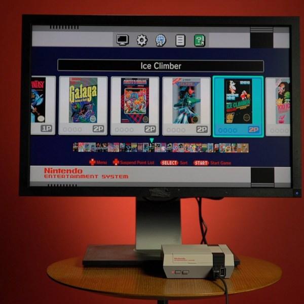 Nintendo mini-console gaming system14886589-159532