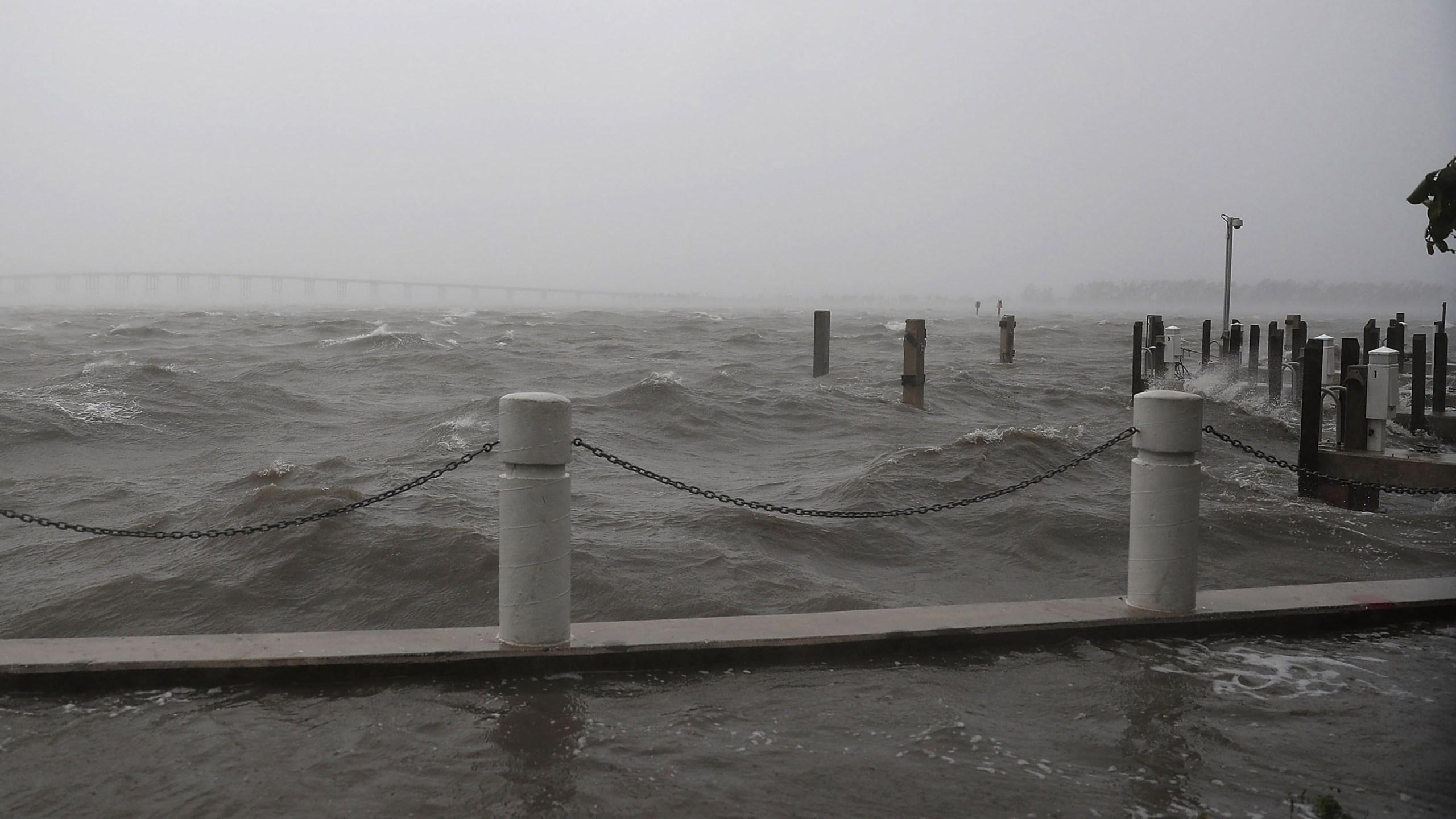ocean water churns, hurricane irma, miami, florida48248658-159532