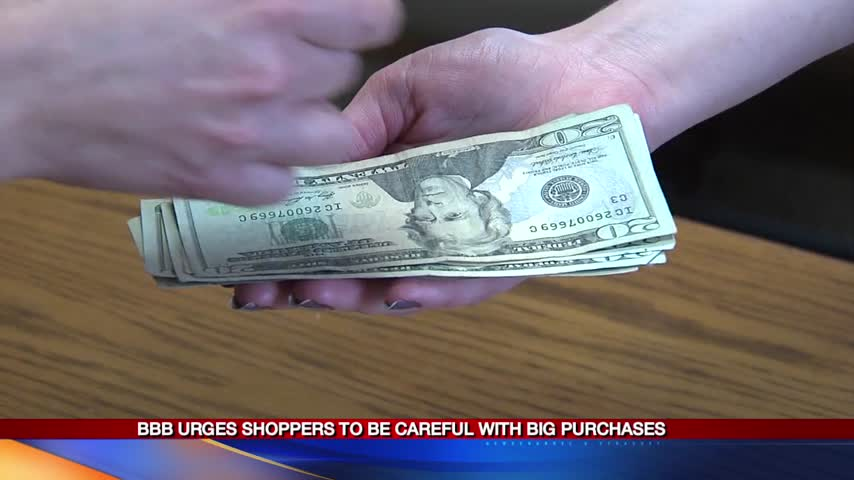 Shopping with caution at 'tent sales' or blowout sales