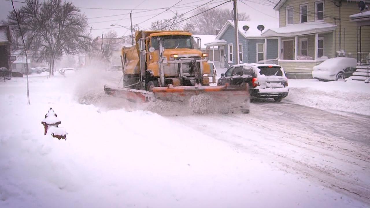 Syracuse DPW Snow Plow
