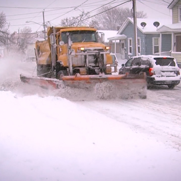 Syracuse DPW Snow Plow