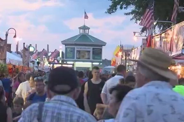 New York state fair crowds
