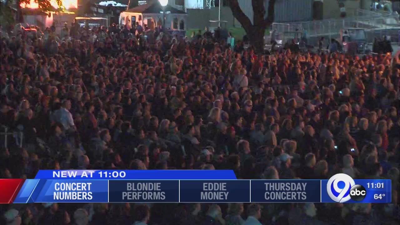How do fair officials determine concert attendance?