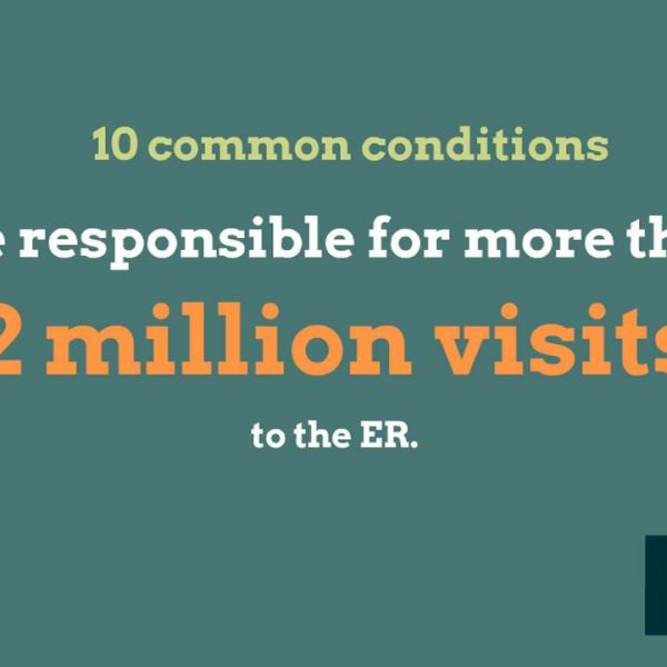 Emergency room visit information