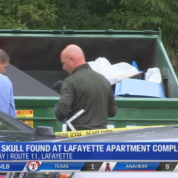 Human skull found in LaFayette