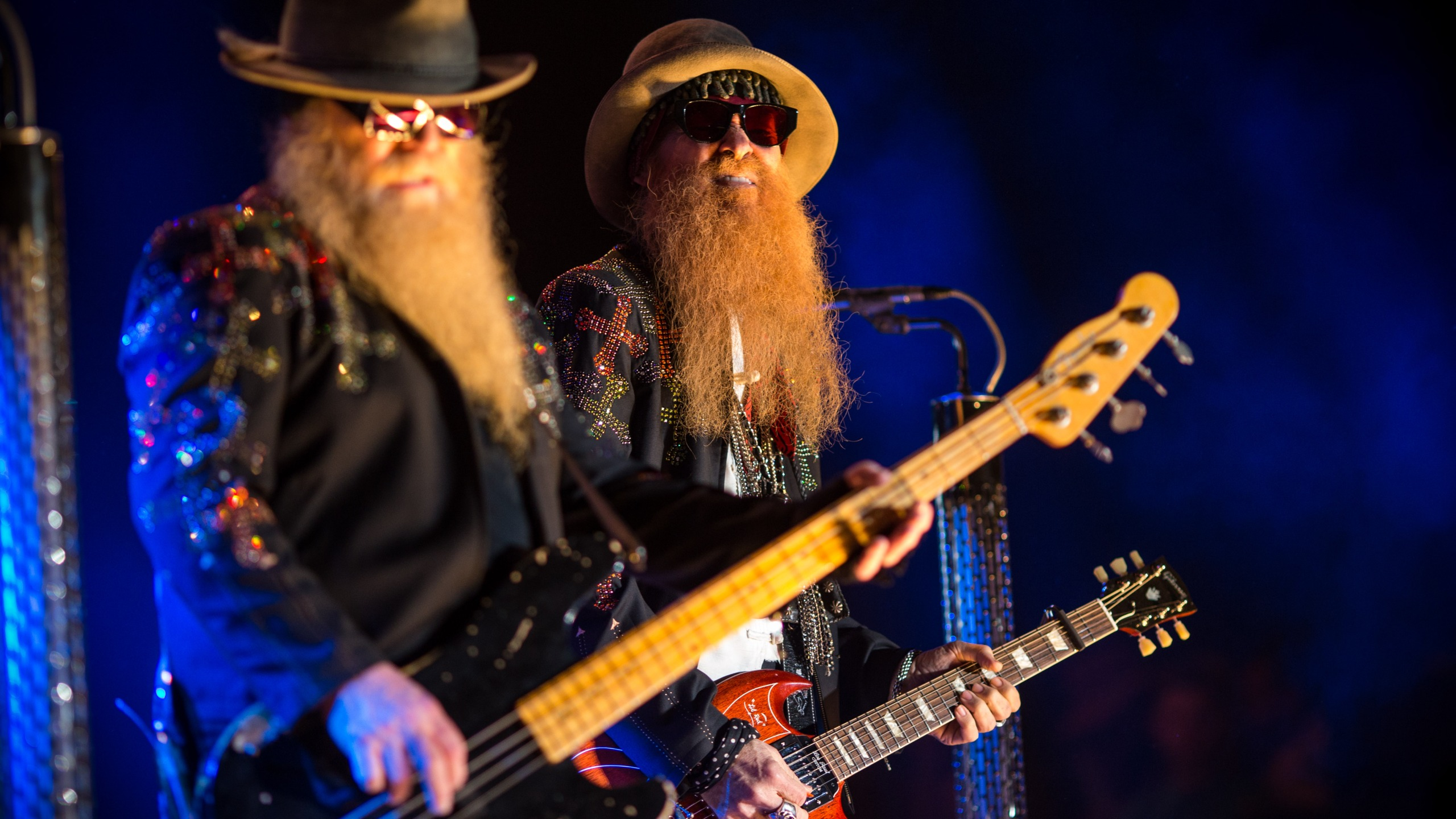 ZZ Top to perform at the Amphitheater