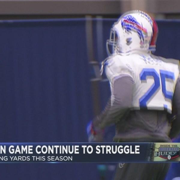 McCoy, run game struggle