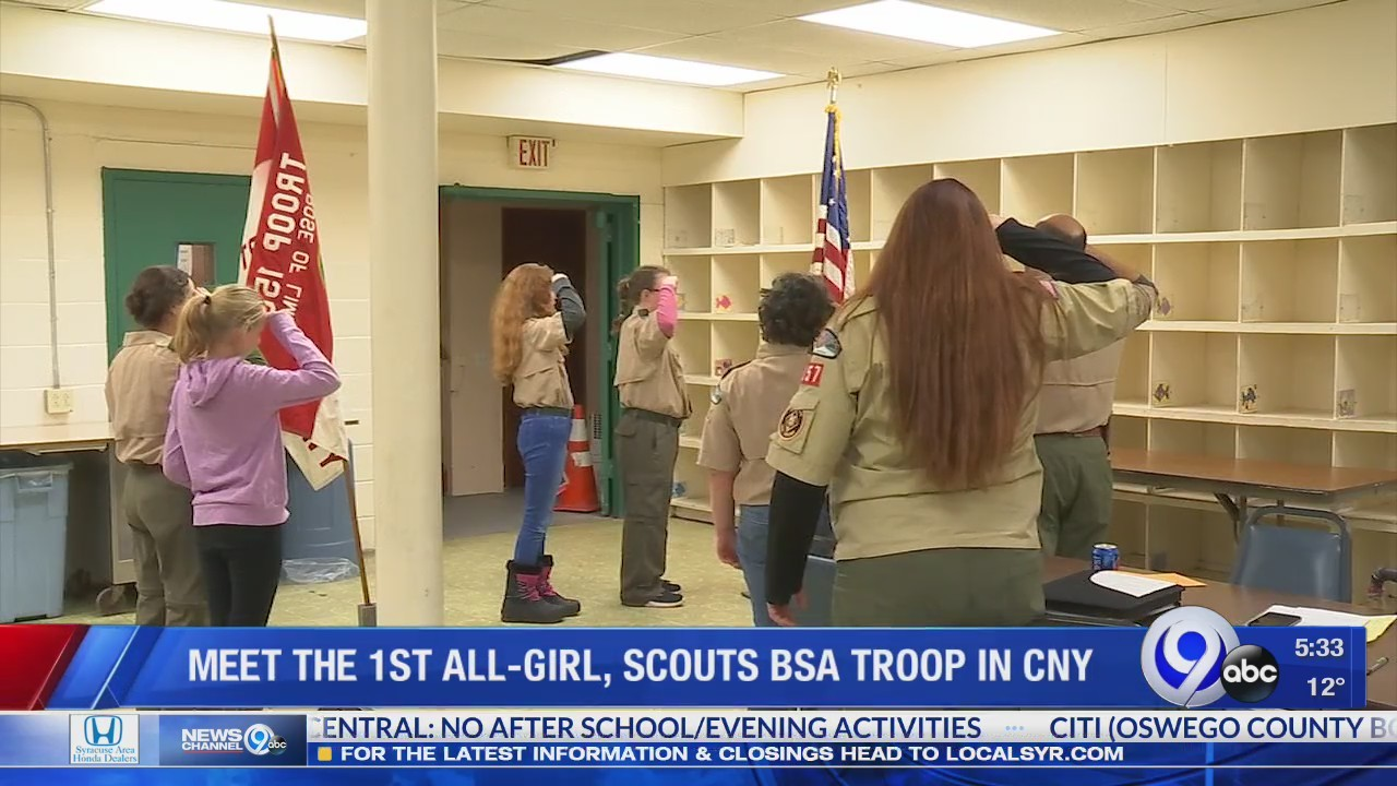 Meet the first all-girl, Scouts BSA troop in Central New York