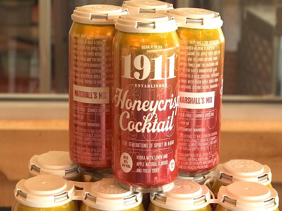 1911 Honeycrisp cocktail