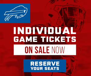 Buffalo Bills Individual Game Tickets