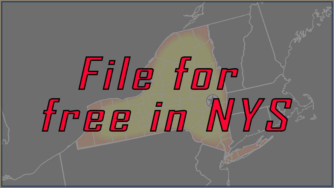File for free in NYS