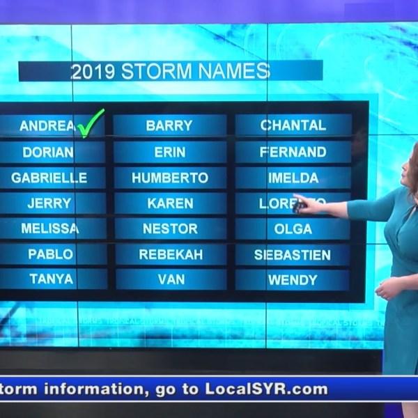 Hurricane season has begun! Here's a list of the names