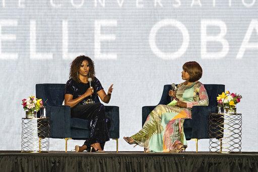 Michelle Obama; Gayle King