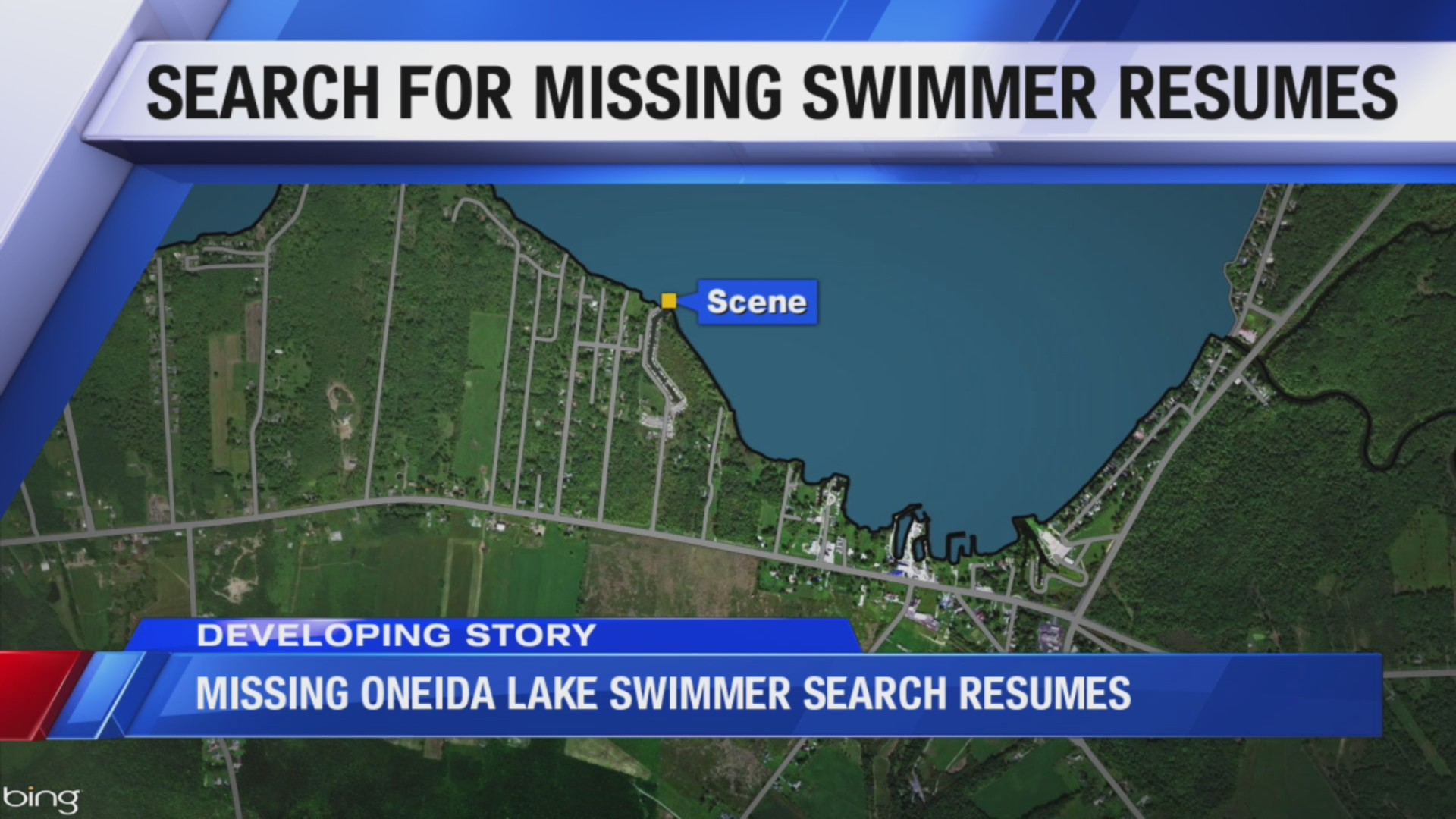 Search continues for missing swimmer on Oneida Lake who went