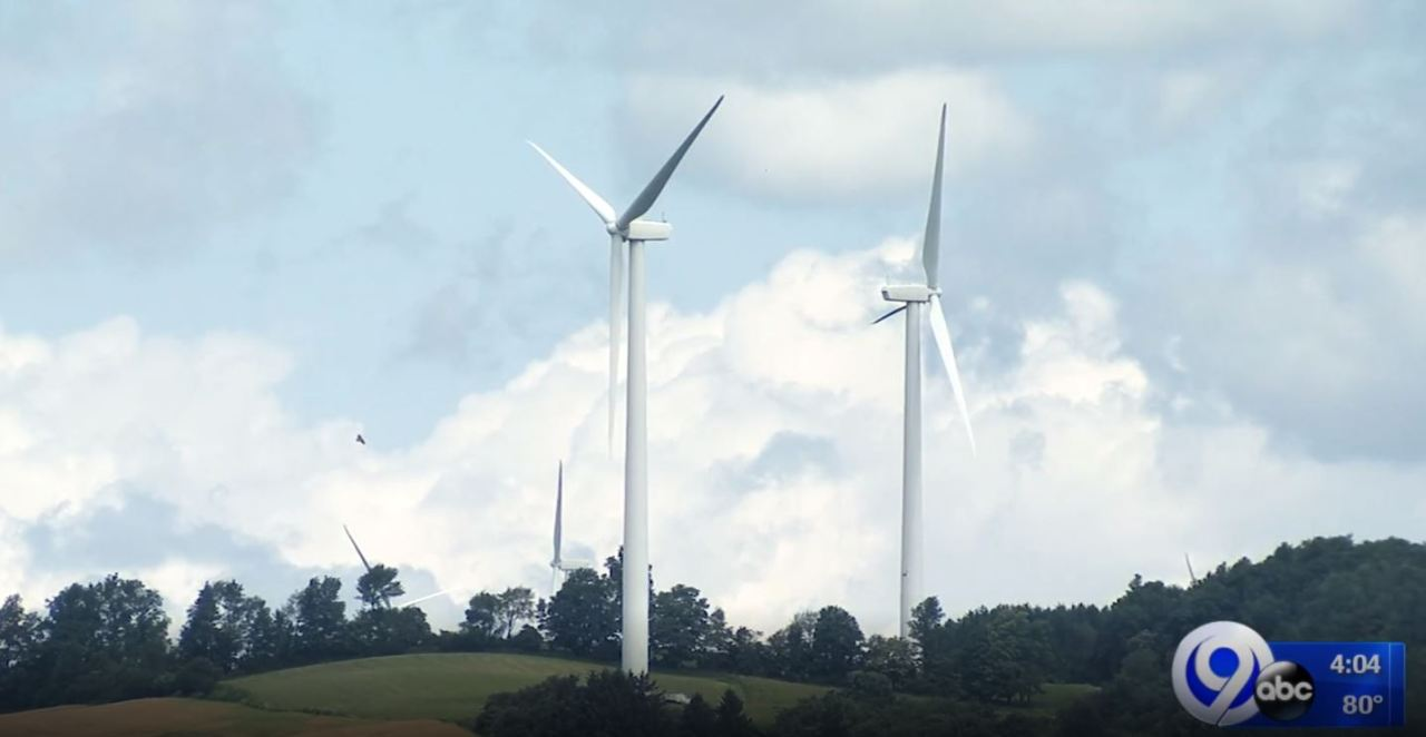 30  windmills turned off in madison county for nearly a year  as owners wait for mechanical part