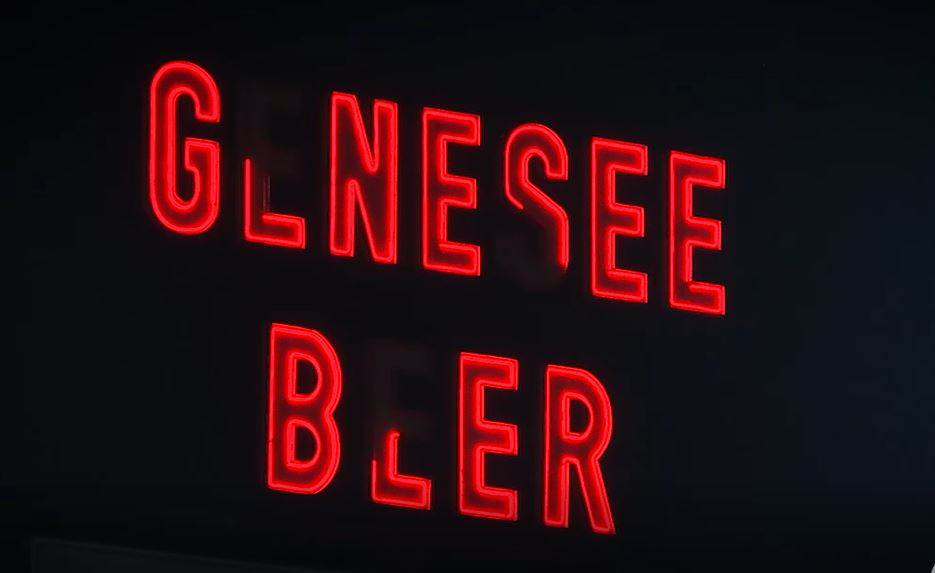 Auburn man who leases spaces for 'Genesee Beer' sign explains why some lights are out