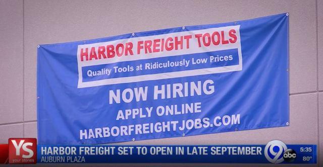 Auburn Harbor Freight slated for late September opening