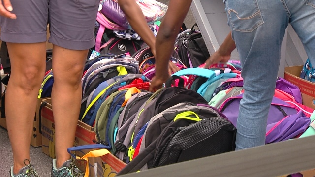 Thousands of kids ready for school after 18th annual Mary Nelson Giveaway