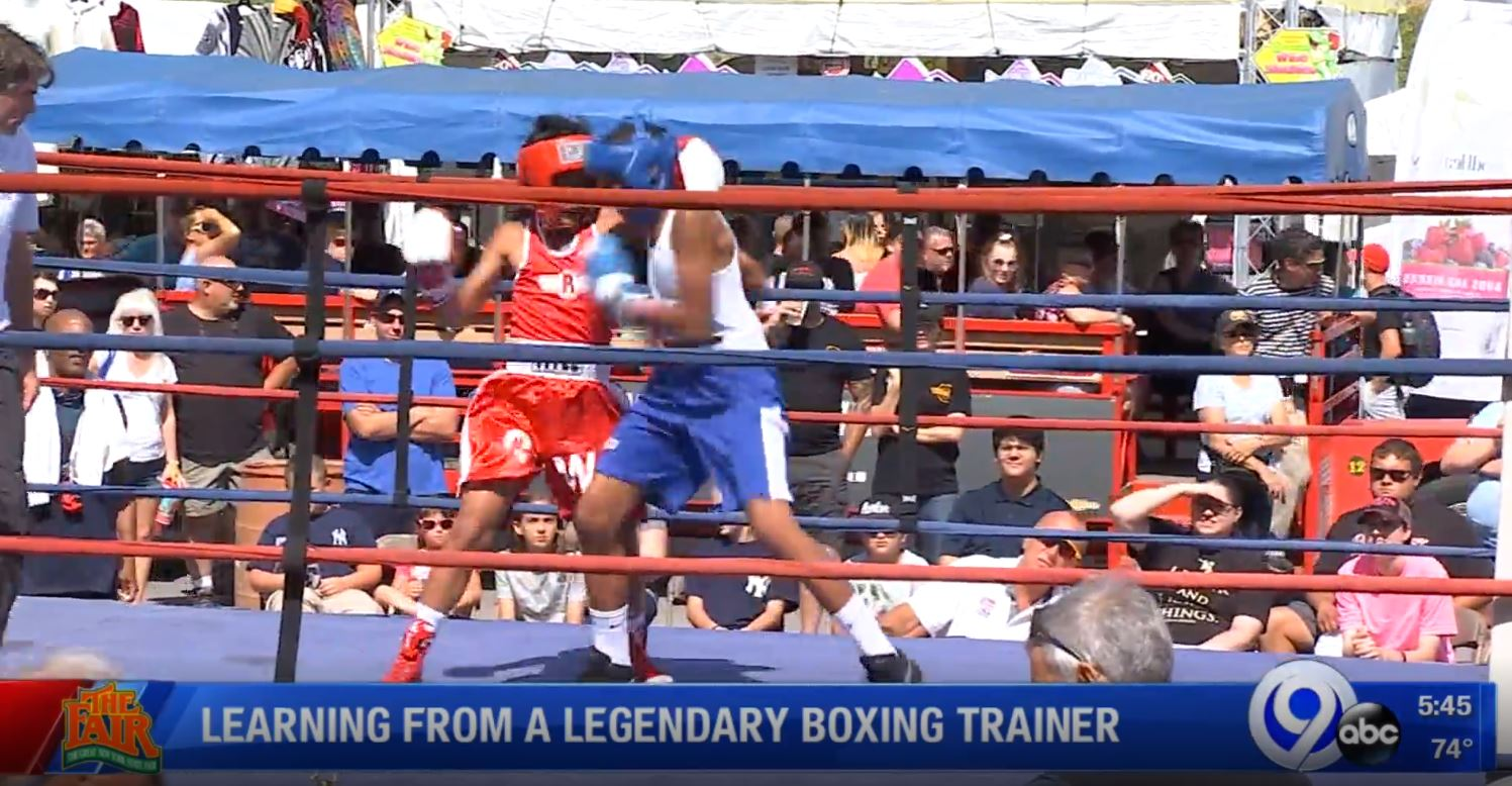 Learning from a legendary boxing trainer   WSYR