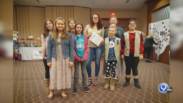 Girl Scouts Set Out to Improve Van Lieu Park