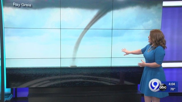Waterspout spotted on Lake Ontario Thursday- Storm Team explains