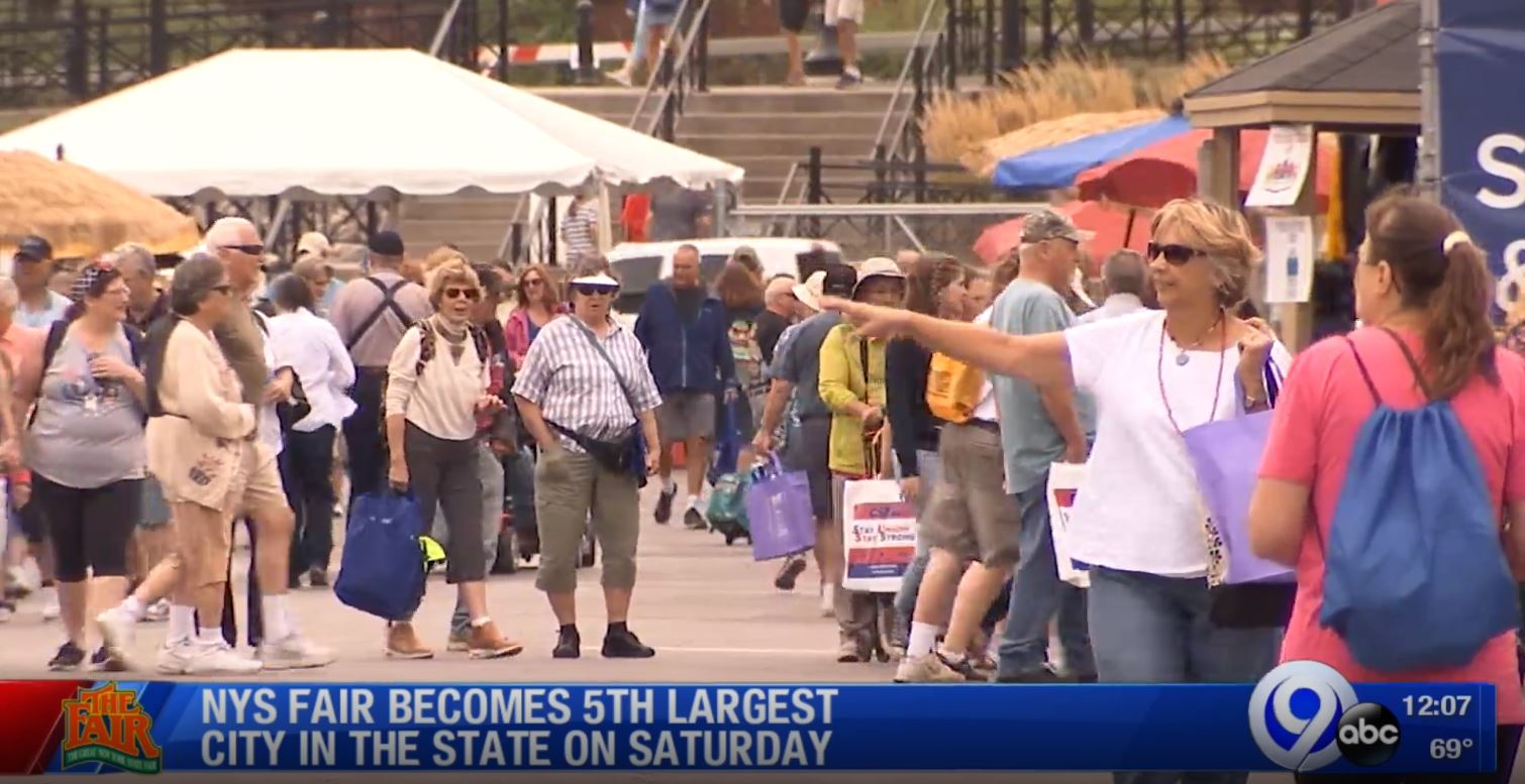 State Fair was fifth largest city in NYS on Saturday | WSYR