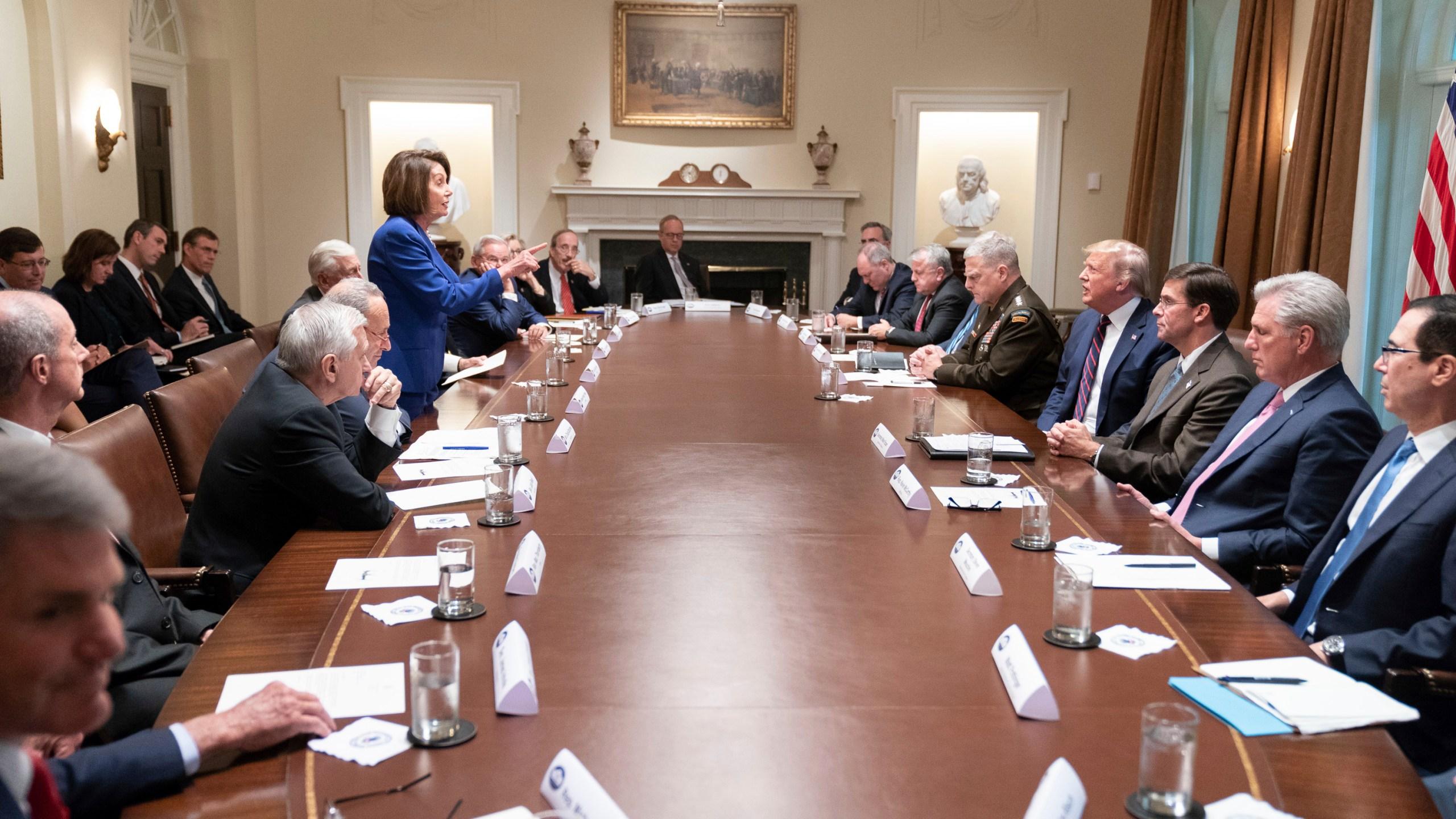 Donald Trump, Nancy Pelosi