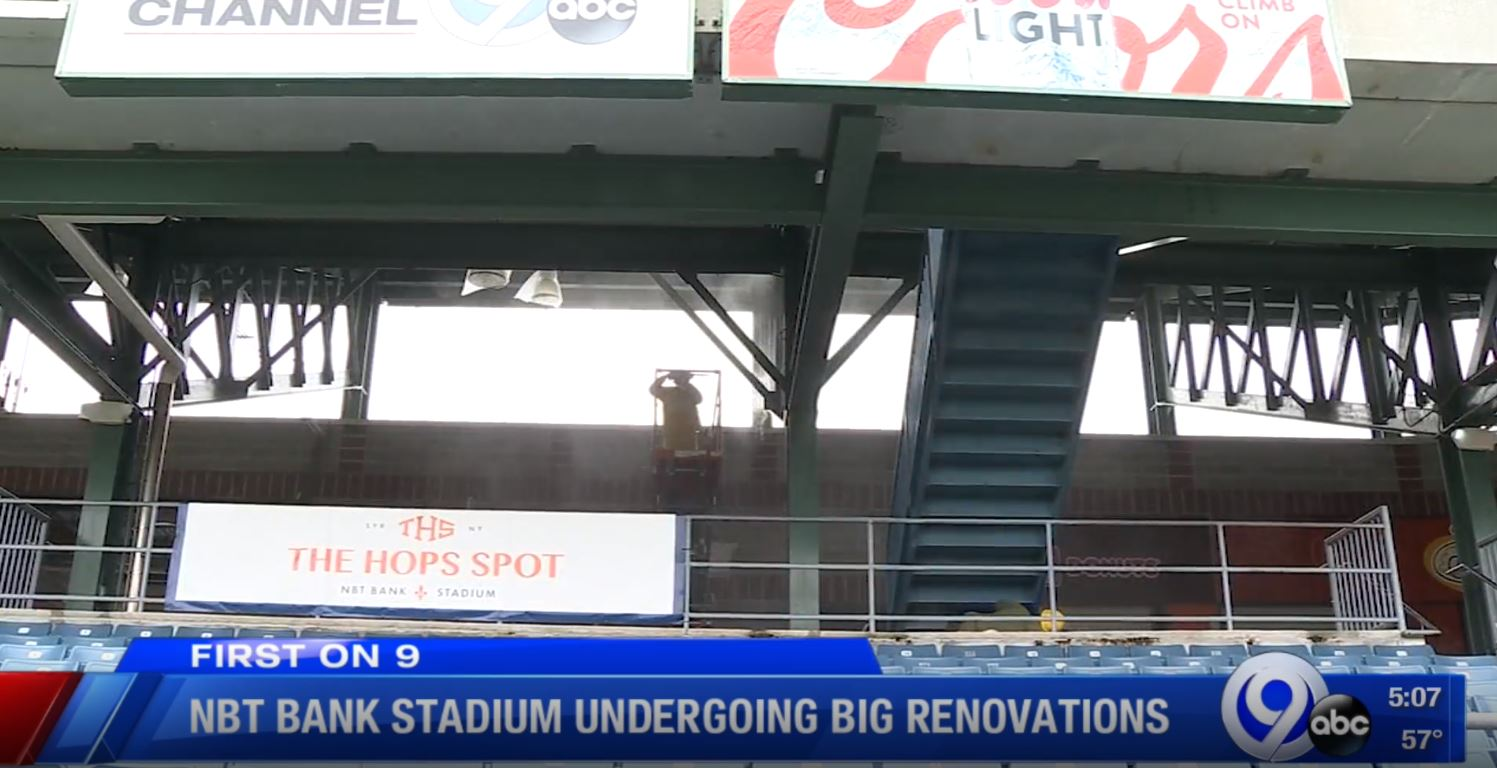 Nbt Bank Stadium Undergoing Major Renovations During The Off Season Wsyr