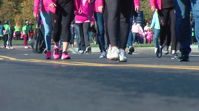 More than 3,500 people are making strides to end breast cancer