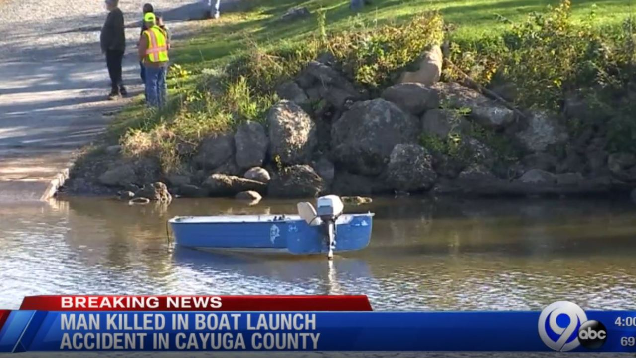 One dead after boat launch accident