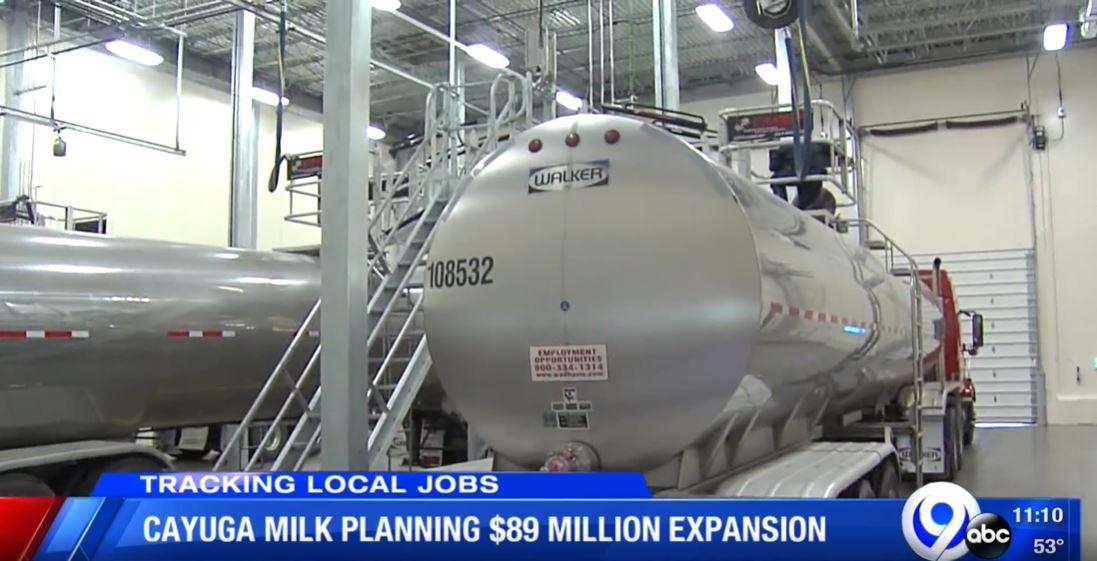 Cayuga Milk Ingredients planning multi-million dollar expansion