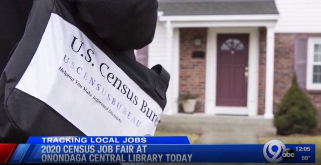 U.S. Census Bureau hosting job fair at Onondaga County Central Library