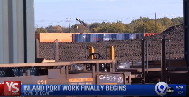 Work begins on inland port: Your Stories