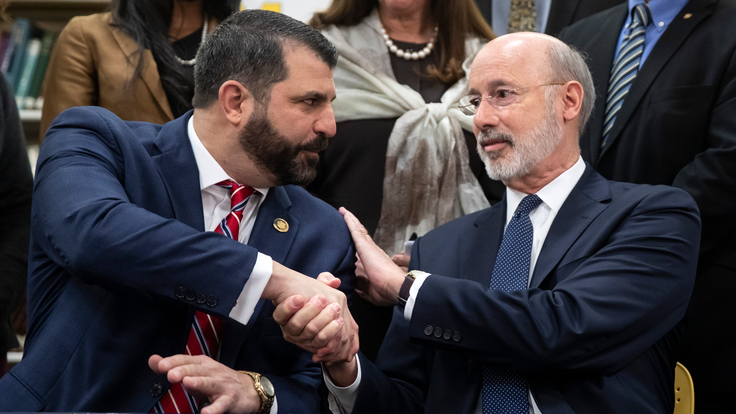 Tom Wolf, Mark Rozzi