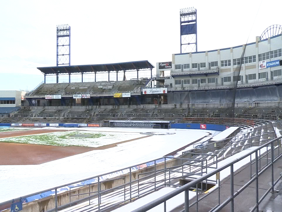 Syracuse Mets Ballpark Nbt Bank Stadium Undergoing Major Renovations Wsyr