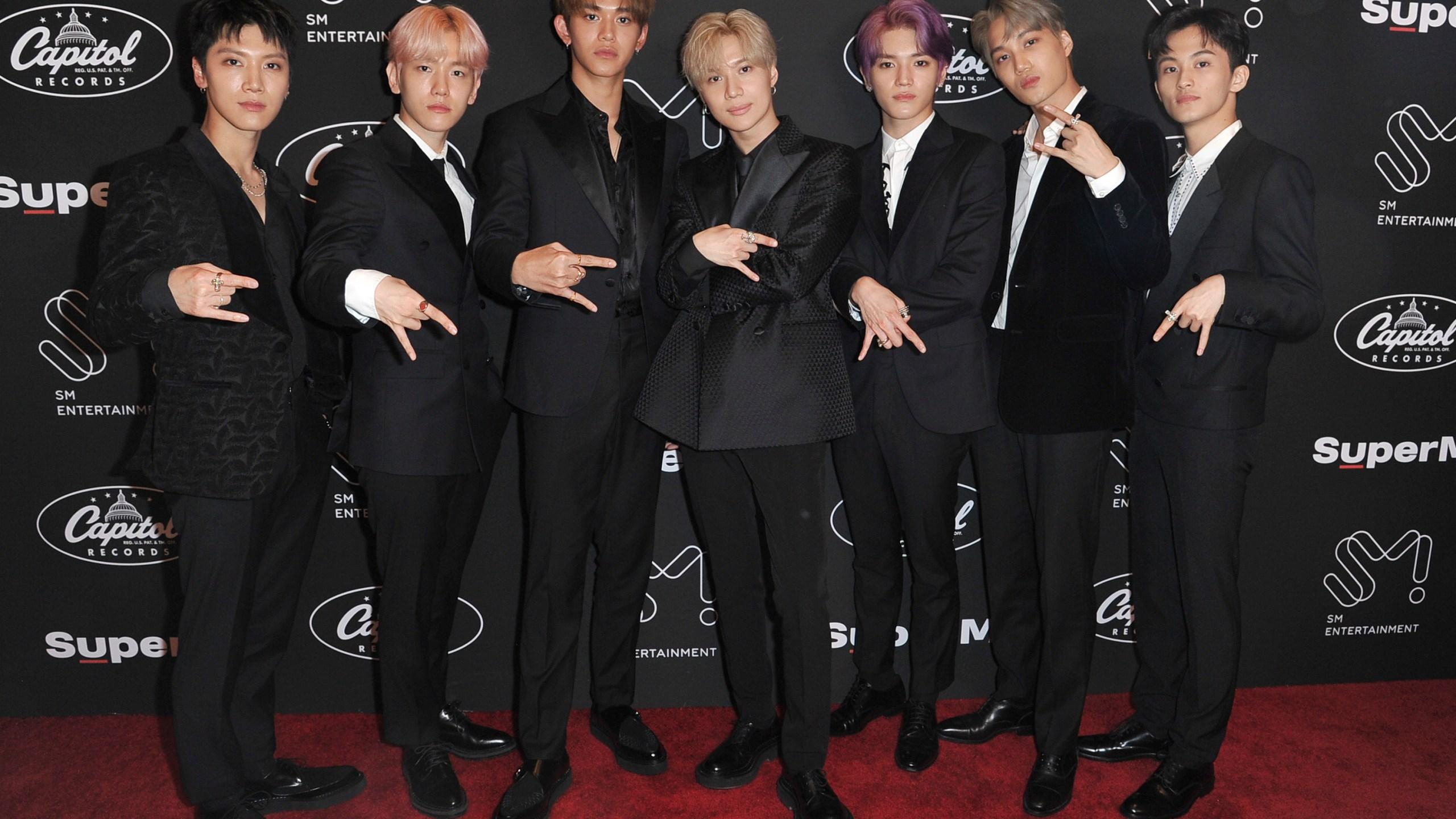 Ten, Baekhyun, Lucas, Taemin, Taeyong, Kai, Mark